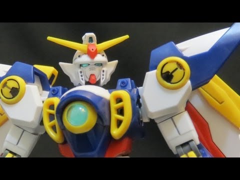 HGAC Wing Gundam (1: Unbox) Gundam Wing High Grade After Colony Gunpla review ガンプラ