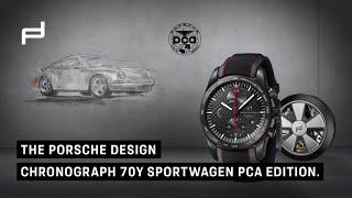 Porsche Design Chronograph 70Y Sportwagen PCA Edition