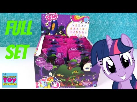My Little Pony Wave 16 Blind Bag Opening Full Set Toy Review MLP   PSToyReviews
