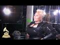 Tamela Mann | Backstage | 59th GRAMMYs