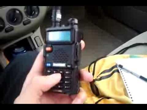 Baofeng UV-5R overview 2M/70CM handheld radio