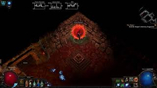 Path Of Exile - MoM Block Blade Vortex Ascendant Atziri Run (3.0/3.1ok)