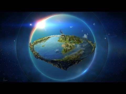 ПЛОСКАЯ ЗЕМЛЯ ! Очень мощное видео.  Рекомендую
