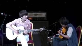 (Sungha Jung) Mosaic - Sungha Jung & Alyza Barro (live)