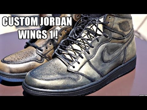 HOW TO MAKE THE JORDAN WING 1'S (DIY) !