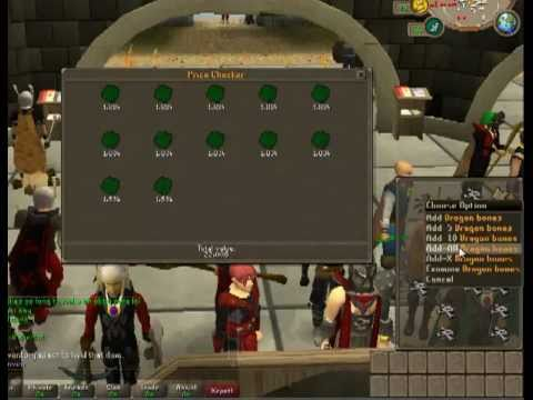 Runescape Green dragon guide for old wildy 2011 (500k an hour)