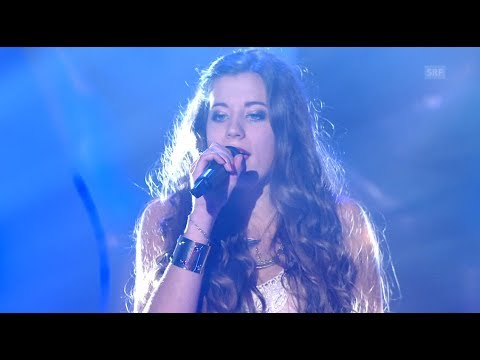 Lisa Oribasi - Crazy rolling In The Deep - Blind Audition - The Voice Of Switzerland 2014 video