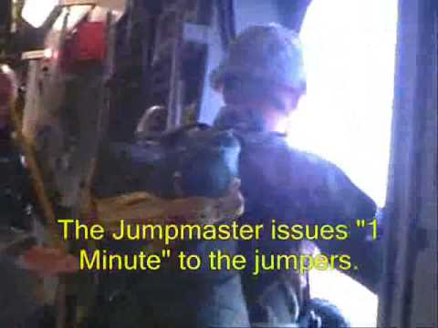 82nd Airborne Division C-17 Airborne Ops - Part II: Paratrooper Drop