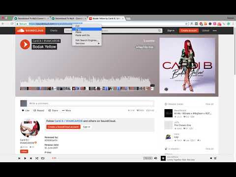 Soundcloud to Mp3 - Convert and Download Soundcloud Tracks Songs Online