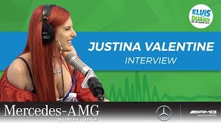 Justina Valentine on MTV's 'Wild 'n Out' and Her New Original Album | Elvis Duran Show