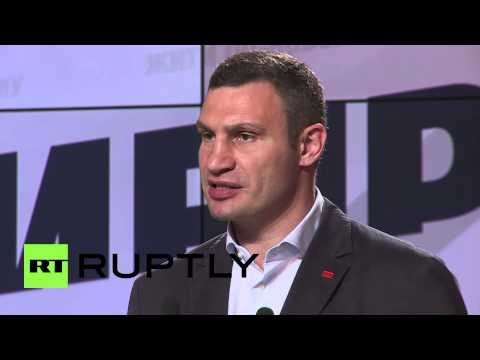 Ukraine: Barricades should be dismantled in Kiev - Klitschko
