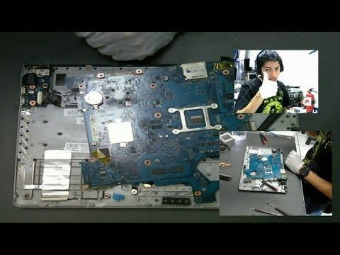 ST - Desarmar Notebook Samsung NP300