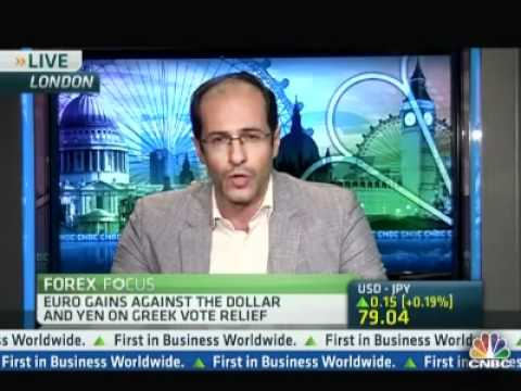 Ashraf Laidi on CNBC After Greece Elections - June 17, 2012 Chart