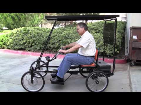 Solar Powered Quadricycle!