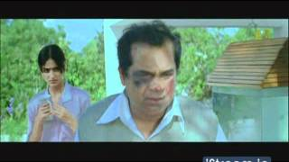 Brahmanandam Gets Beaten Up || Jalsa Telugu Movie Comedy Scenes || Pawan Kalyan, Ileana