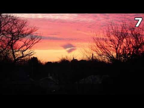 10 Мистических Явлений в Небе, Снятых На Камеру ч.10