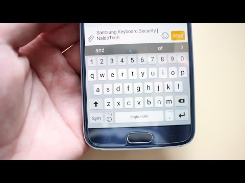 How To Be Safe from Samsung Galaxy S6 Keyboard Security Flaw (Uninstall Keyboard)