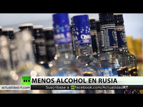 La OMS constata que el consumo de alcohol en Rusia cayó un 43 %