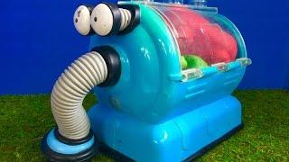 RARE NOO NOO Teletubbies Mega Bloks Toy Chest For Toddlers!