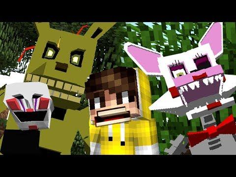 МАЙНКРАФТ МОДЫ ФНАФ - Five Nights at Freddy's Minecraft MOD - КокаПлей ЛетсПлей