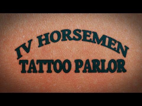 """TheFourHorsemen"" for IV Horsemen Tattoo Parlor, Bluwave Productions - Panama City, FL"