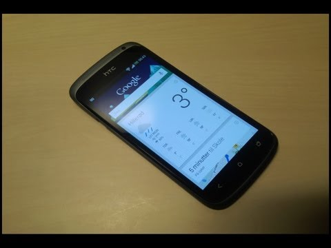HTC One S jelly bean 4.1.1 Hands on!