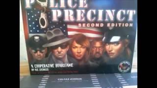 POLICE PRECINCT Reseña del  juego de tablero