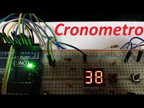 Cronometro Arduino con botones de inicio y parada (Tutorial)