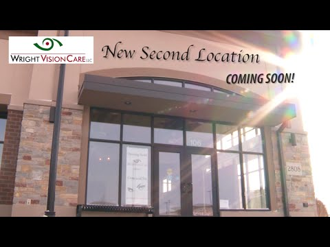 Coming Soon! Wright Vision Care's Second Location