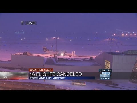 Some flights cancelled at PDX