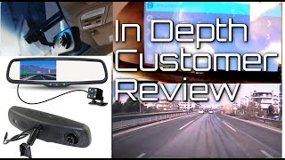 Rear View Mirror Camera - FULL Review & Install Guide