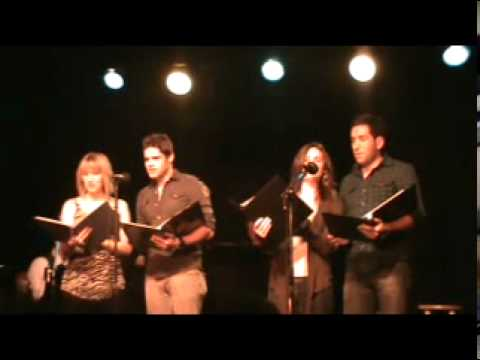 Jeremy Jordan, Carrie Manolakos, Zach Prince, and Sara Jean Ford - Just Ahead