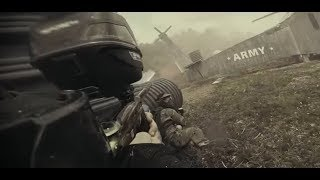 Intense Paintball Scenario Action - Invasion of Normandy