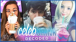 JORDYN JONES VS. CLOECOUTURE | Celebrity Drinks Decoded