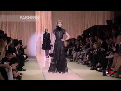 ARMANI PRIVE' Autumn Winter 2013 2014 Haute Couture Paris HD by Fashion Channel