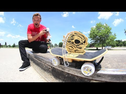 Epic RC Toy Skateboard!
