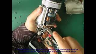 3B01 Reparatur Kameras Sony DSC F707 F717 -CCD Umtausch - camera Replace or Repair- CCD change