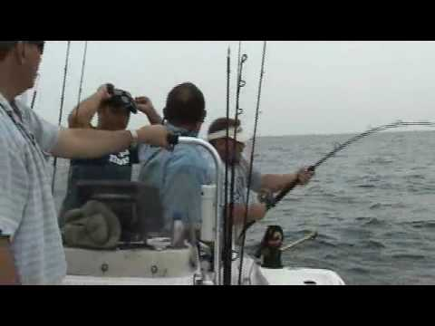 Wrightsville Beach Fishing Charters AMBERJACK VIDEO
