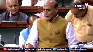 Home Minister Rajnath Singh Fires On CONGRESS Over 'No-Confidence motion' -Studio N - netivaarthalu.com
