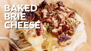 1-Min Recipe • Baked Brie cheese • Quick and keto!