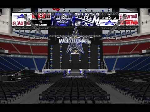 Wwe wrestlemania 27 stage