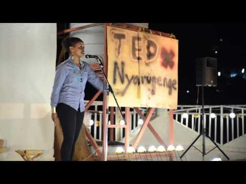 "Rwanda is not ""Hotel Rwanda"" | Angel Uwamahoro | TEDxNyarugenge"
