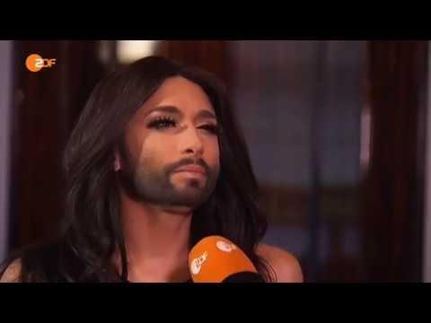 Conchita Wurst interview ZDF