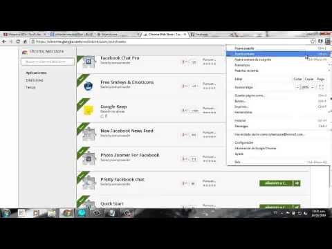 Como  eliminar o kitar  aplicaciones de Google Chrome (Chrome Web Store)