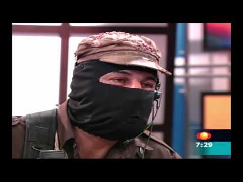 Carlos entrevista al Subcomandante Marcos
