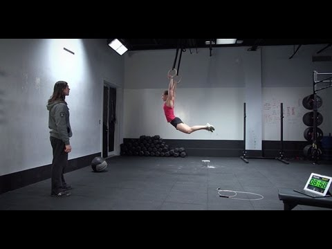 CrossFit - Open Workout 13.3 - Video Submission Example with Julie Foucher