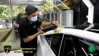 Đánh bóng, phủ Ceramic Siêu xe BMW i8 thể thao 2 cửa - Chiếc xe đến từ tương lai