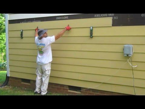 Hardieplank lap siding install video how to make do for Allura siding vs hardie siding