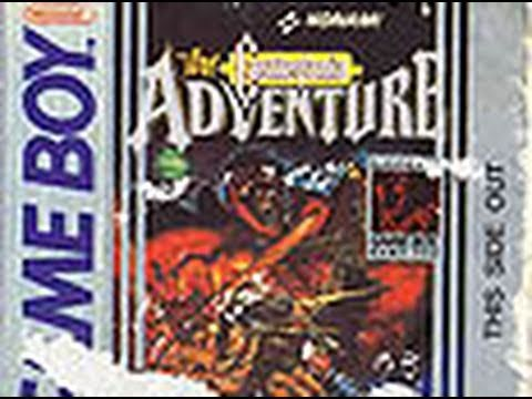 Classic Game Room - CASTLEVANIA THE ADVENTURE for Game Boy review