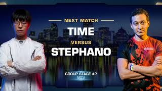 TIME vs Stephano TvZ - Group Stage - WCS Montreal 2018 - StarCraft II